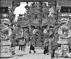 Pung Tao Gong Temple (Bruno Zaffoni) Tags: thailand temple chiangmai tao gong pung