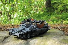 One of my Lego tanks I hope you like it. (oliverstrm) Tags: tank lego legotank