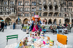 Munich 04.05.2016 (de-tec-tive) Tags: travel germany munich photography nikon europe munchen madhatter marienplatz teaparty aliceinwonderland d800 2016 wonderlondon rebeccahoulden