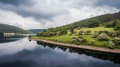 Spring reflection at Ladybower reservoir (milo42) Tags: park england hope unitedkingdom district peakdistrict peak national gb peakdistrictnationalpark drone 2016 httpwwwchrisnewhamphotographycouk