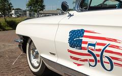 Oldtimer Cadillac (Zarner01) Tags: auto white car digital canon germany deutschland eos is outdoor cadillac oldtimer stm weiss cabrio efs 56 mecklenburgvorpommern lro dbr baddoberan heckflosse weisswandreifen americaner kfzwerkstatt efs18135 canoneos750d hlnnies