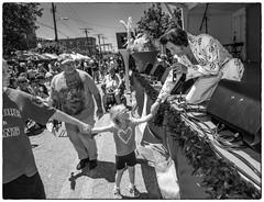 Elvis performs at Honfest in Baltimore (crabsandbeer (Kevin Moore)) Tags: street bw kids children fun costume elvis maryland kitsch baltimore event beehive hampden hons 2016 honfest tommyel elvisempersonator