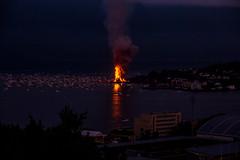 Guinness World Record - Just Nice View (jforberg) Tags: world party records water norway night fire midsummer guinness celebration bonfire lesund aalesund 2016 slinningsblet