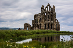 Whitby   |   Whitby Abbey (JB_1984) Tags: uk longexposure england motion blur reflection church water abbey clouds movement pond ruins unitedkingdom yorkshire monastery whitby remains northyorkshire whitbyabbey eastcliff ndfilter neutraldensityfilter yorkshireandthehumber boroughofscarborough