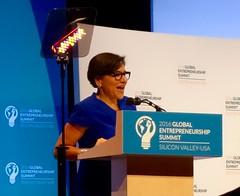 Commerce Secretary Penny Pritzker at GES2016 (jurvetson) Tags: for order president presidential entrepreneurship page summit executive obama ambassadors global ges ges2016