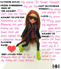 Haven Foster for Modern Music (Mimi_Angel') Tags: bratz doll meygan haven foster modern music magazine