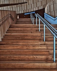 stairs to the alphabet (dan.boss) Tags: wood stairs banister oslooperahouse