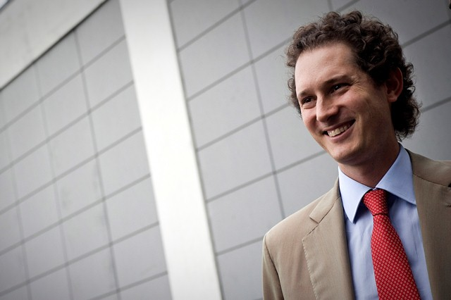 John Elkann at the International Book Fair of Turin,  May 13, 2011