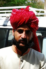 Rajasthani (Let Ideas Compete) Tags: people india man beard la faces indian le mustache jaipur meridian rajasthan beardedman doorman thisislife indianculture incredibleindia beardedguy
