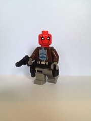 Batman: Under The Red Hood (Brick@natomy) Tags: red lego under batman hood custom villain minifigure antihero sidantoys gibrick
