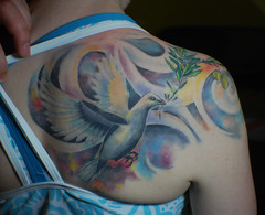 healed dove tat