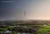 Sensory deprivation on the green Axminster (Azzmataz) Tags: lighthouse mist seaweed st fog bay marys whitley