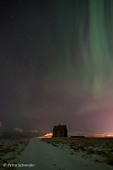 Old house at Vatnsleysustrnd (Petra's nature photography) Tags: island iceland northernlights auroraborealis nordlys polarlicht nordlicht vatnsleysustrnd nordurljos auroresborales