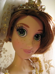 Look At Those Lashes! (scarlett1854) Tags: disney rapunzel tangled disneyprincess disneydoll limitededitiondoll tangledeverafter rapunzelwedding rapunzelshorthair