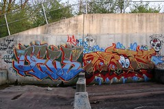 DELS WRITS (Hahn Conkers) Tags: columbus ohio del graffiti hwc ese nsf 4c writs
