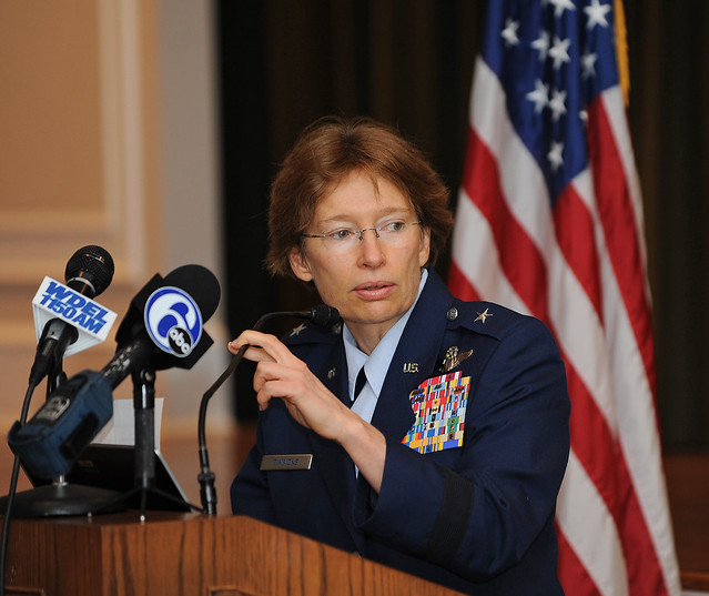 Brigadier General Carol Timmons.