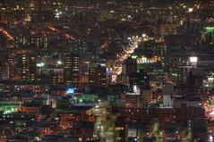 "The Sapporo night view from ""Okurayama"" (JAVAWOCK) Tags: street japan sapporo nightview hdr photomatix"