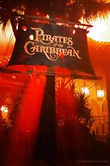 Pirates Of The Caribbean (Joe Barrett Photography) Tags: sign night nikon disney disneyworld waltdisneyworld magickingdom piratesofthecaribbean adventureland mnsshp mickeysnotsoscaryhalloweenparty flickrchallengegroup