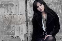 Glamour Goth (Putragrapher Jabrix) Tags: fashionphotography canonef50mmf18 canoneos50d