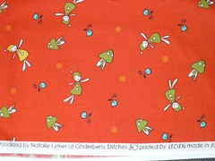 Woodland Red Wee Little Elves Yardage SKU# 30406-30 (lkollett) Tags: christmas red mushroom woodland kid dolls fabric cotton elves lecien quiltingcotton