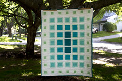 blanket for eleanor! (mintyfreshflavor) Tags: sewing explore quilting fos exploretop100 explore36 swimmingpoolspread