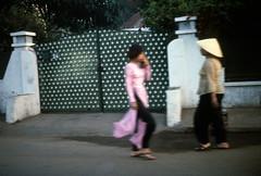 Saigon native costume - Feb 1969 (manhhai) Tags: 1969 vietnam saigon tray62