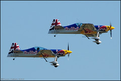 Duxford Jubilee Airshow 2012 - The Red Bull Matadors (Si 558) Tags: show museum war jubilee aircraft aviation air aeroplane airshow duxford imperial 2012 iwm