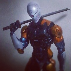 Cyborg Ninja - Grayfox - metal gear solid (sir_winger) Tags: metal gray gear solid mgs grayfox cyb cyborgninja playartskai
