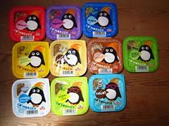 Tine Go' Morgen (Like_the_Grand_Canyon) Tags: june norway penguin europe norwegen norwegian yoghurt bergen dairy product granola pinguin 2012 joghurt msli norwegisch