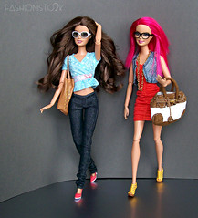 Pleasant Surprise, Pt. I (fashionisto2k) Tags: fashion glasses dolls sassy barbie teresa basics mattel fashionistas stardoll f2k