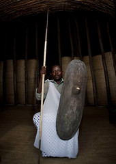 Mr Innocent,  Intore dancer in Ibwiwachu, Rwanda (Eric Lafforgue) Tags: africa man dance interieur dancer danse tribal rwanda indoors lance warrior afrika shield inside tribe commonwealth adultsonly oneperson homme spear afrique tribu eastafrica bouclier danseur centralafrica 9912 kinyarwanda guerrier ruanda indigenousculture afriquecentrale     republicofrwanda ibyiwacu   ruandesa ibwiwachu coiffetraditionnelle