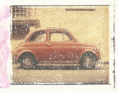 500 (guido.masi) Tags: florence fuji fiat printer slide instant firenze 500 transfer vivitar fp100