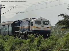 KING OF DIESEL-WDP4B (karthik abbilash) Tags: electric train coach diesel siemens steam ms varanasi 24 express tamilnadu bharat tvc dlw nagercoil icf goldenrock v16 indianrailways 40077 rcf rajdhani kapurthala shf microprocessor dbr goc buzzzz irfca 16723 16724 lhf shatabdi perambur wdp4 trivandrumcentral garibrath chennaiegmore wdp4b bharatiyarail diesellocoworks longhoodfront shorthoodfront dynamicbrakeresistor