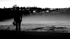 Beach walk (Andy Burton Oz) Tags: beach sand personal sydney australia pacificocean walker nsw tasmansea 2012 pittwater warriewood afsvrmicronikkor105mmf28gifed nikond40 andyburton warriewoodbeach aperture323