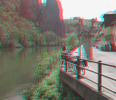 Below the peaks on the Nahe (katyfernleigh) Tags: 3d anaglyph stereo spm twincamera ixus70 sdmsync