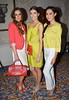 Rozanna Purcell, Hannah Devane and Alison Canavan CARI Summer Lunch and Fashion Show Dublin, Ireland