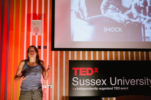 Yvo Luna speaking at TEDxSussexUniversity 2012