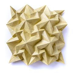 Paradigma corrugation (_Ekaterina) Tags: yellow paper origami corrugation lukasheva