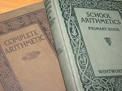 Complete Arithmetic and School Aritmetics (libertybliss) Tags: vintage antique books math mathematics oldbooks childrensbooks schoolbooks completearithmetic georgewentworth wentworthsmith davideugenesmith schoolarithmetics