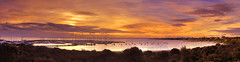 Sandringham Sunset (Andrew Fleming Photography) Tags: ocean sunset seascape australia melbourne andrew victoria sandringham fleming portphillipbay andrewfleming