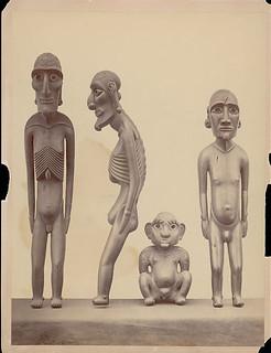 Wood:with Fish Vertebrae Eyes:Effigy Called Kava Kava Moai n.d.