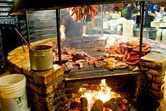 The BBQ pit (Bright Like Neon) Tags: austin bbq lick barbecue salk lockhart saltlick