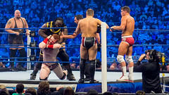 Randy Orton, The Big Show and Sheamus v Daniel Bryan, Mark Henry and Cody Rhodes at Smackdown taping in London 17th April 2012