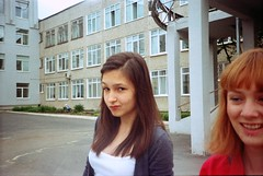 (Amy Fahrieva) Tags: school summer film girl russia