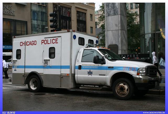 auto usa chicago ford car america illinois united duty von caps police super we il cop states amerika polizei protect serve staaten f450 6183 vereinigte