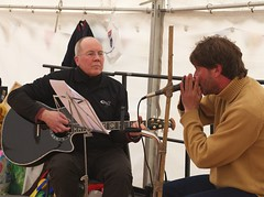 Les and Andy doin' the blues (Feis Alligin) Tags: 2012