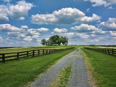 summer sky smart mobile clouds rural fence landscape... (Photo: Sky Noir on Flickr)