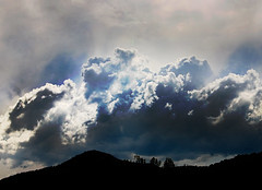 Clouds of Glory (Michael Taggart Photography) Tags: sky cloud art clouds photomanipulation photoshop photography photo saturated glory dramatic vivid surreal cc glorious fantasy creativecommons primal
