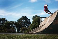 Crail Slide (Chase Collins) Tags: new 50mm bay kid ramp skateboarding pipe slide teen zealand skate nz cannon quarter skater sk8 grom shredder crail stanmore crailslide 450d