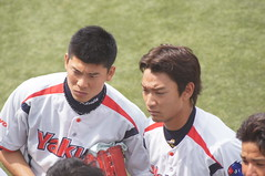 DSC04400 (shi.k) Tags: 横浜スタジアム 東京ヤクルトスワローズ 120608 イースタンリーグ 平井諒 阿部健太